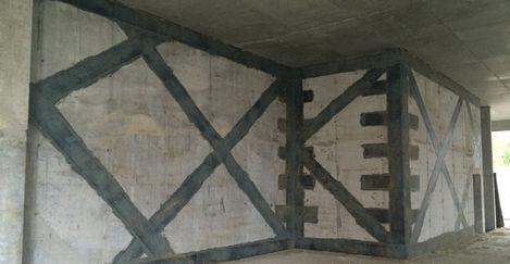 Усиление стен ТСК Карбо